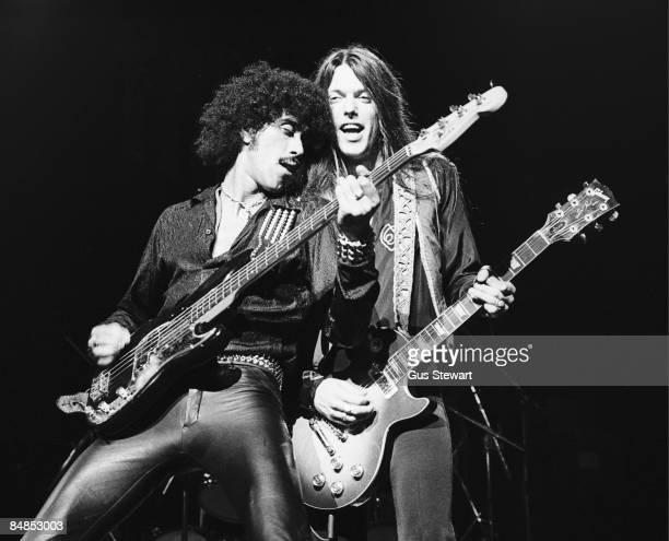 ODEON Photo of Thin Lizzy 001 Hammersmith Odeon London 1978 Phil Lynott and Scott Gorham