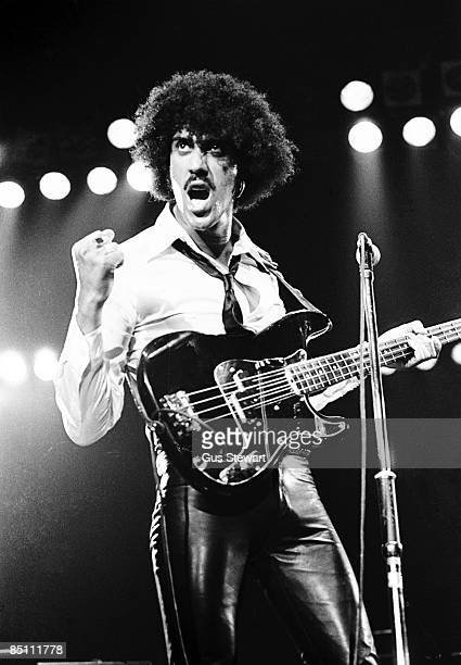 ODEON Photo of THIN LIZZY and Phil LYNOTT Phil Lynott performing live onstage