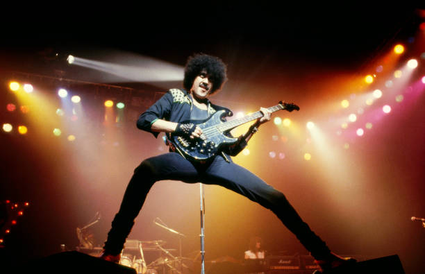 Photo of THIN LIZZY and Phil LYNOTT