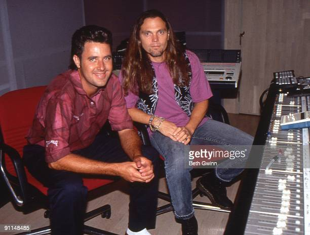 Photo of Timothy B. SCHMIT and Vince GILL, w/Timothy B. Schmit