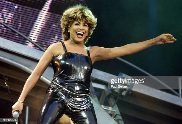 Photo of Tina TURNER, performing live onstage at Groningen