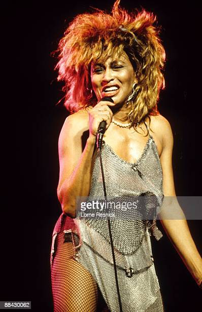 ARENA Photo of Tina TURNER Tina Turner performing on stage