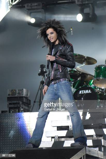 OLYMPIAHALLE Photo of TOKIO HOTEL and Bill KAULITZ Bill Kaulitz performing on stage