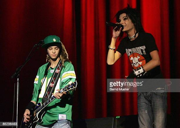Photo of TOKIO HOTEL Musik Rock`N roll Pop Live in concert Konzert Nuernberg Arena Tokio hotel gitarrist Tom und bruder saenger bill