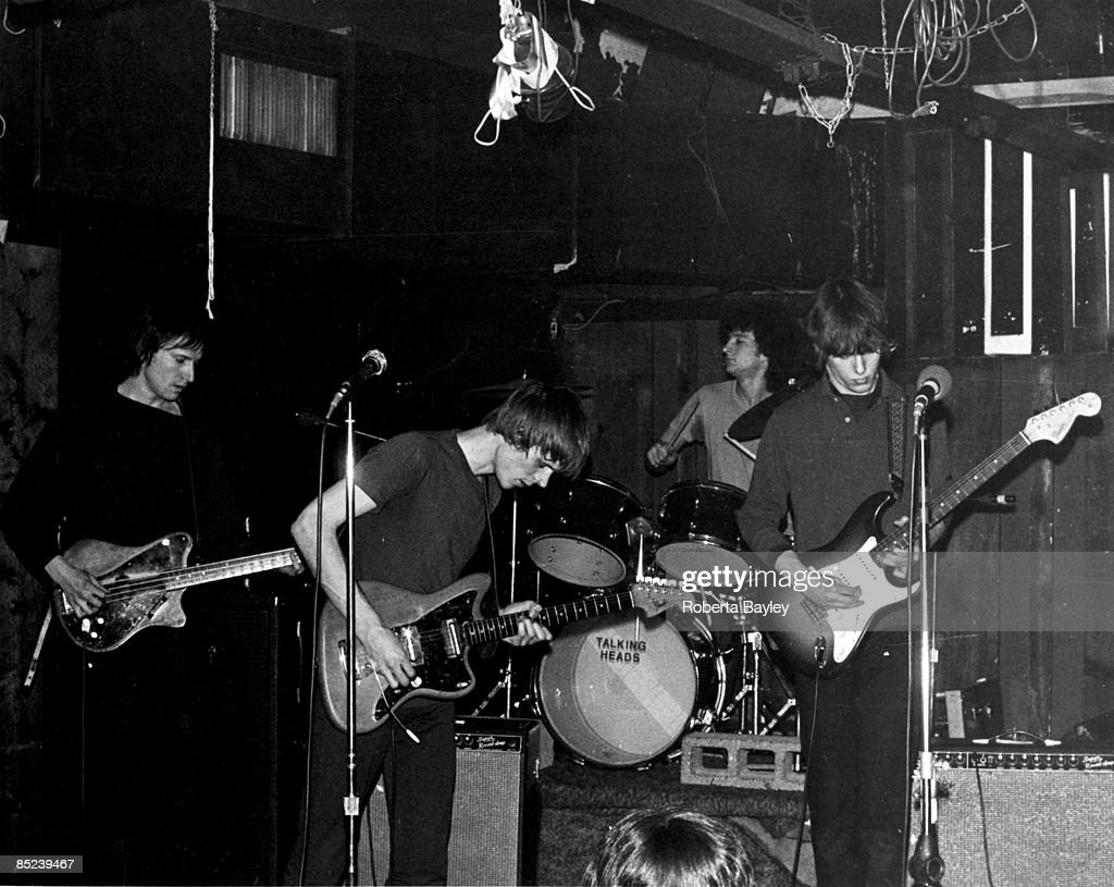 Photo of Tom VERLAINE and TELEVISION and Fred SMITH and Richard LLOYD : News Photo
