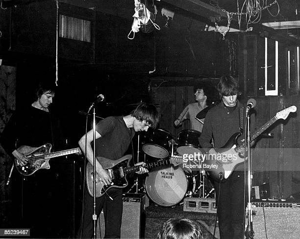 S Photo of Tom VERLAINE and TELEVISION and Fred SMITH and Richard LLOYD LR Fred Smith Tom Verlaine Billy Ficca Richard lloyd