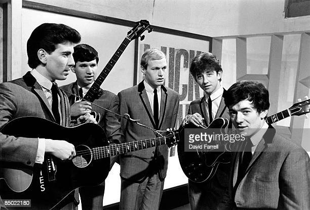 STARS Photo of Tony HICKS and HOLLIES and Graham NASH and Eric HAYDOCK and Bobby ELLIOTT and Allan CLARKE LR Graham Nash Eric Haydock Bobby Elliott...