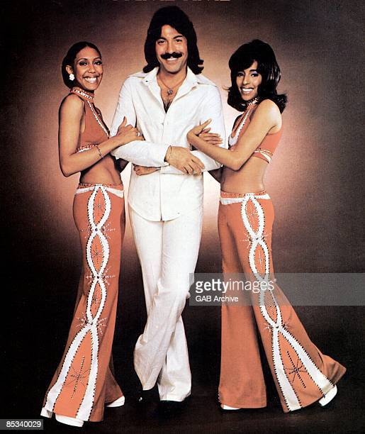 Photo of Tony ORLANDO and Tony ORLANDO DAWN and Telma HOPKINS and Joyce Vincent WILSON LR Telma Hopkins Tony Orlando Joyce Vincent Wilson posed...
