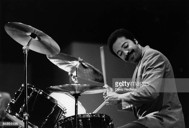 Photo of Tony WILLIAMS Jazz drummer Tony Williams performing on stage