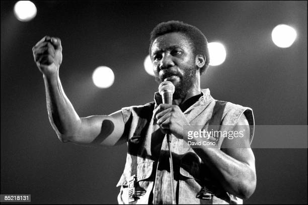 THEATRE Photo of TOOTS The MAYTALS and Toots HIBBERT Toots Hibbert performing at the Dominion London London 23 July 1985