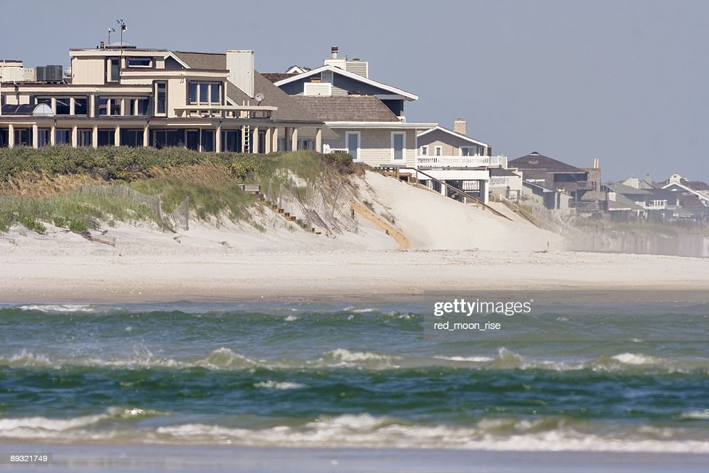 A photo of Topsail Island in Wrightsville : Stock Photo