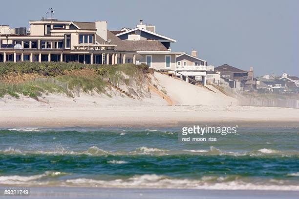 a photo of topsail island in wrightsville - outer banks stock pictures, royalty-free photos & images