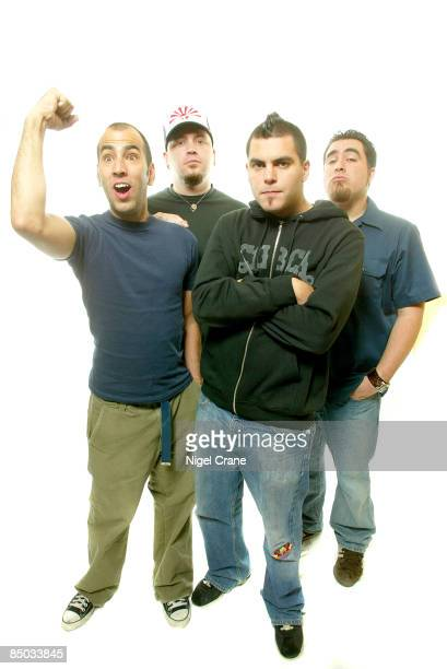 Photo of Tye ZAMORA and ALIEN ANT FARM and Dryden MITCHELL and Joe HILL LR Mike Cosgrove Joe Hill Dryden Mitchell Tye Zamora