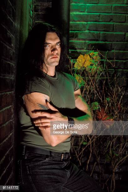 Photo of TYPE O'NEGATIVE singer Peter Steele Photo by George De Sota /Redferns