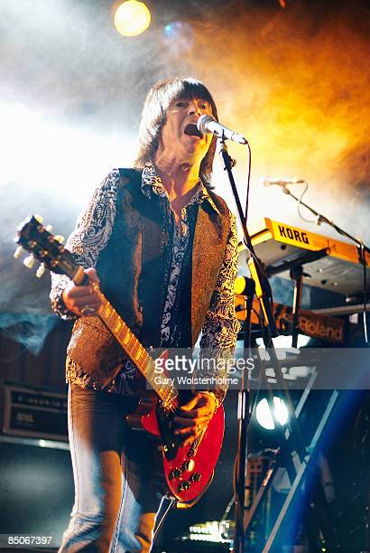 BALL BUTLINS Photo of UFO Paul Raymond performing on stage