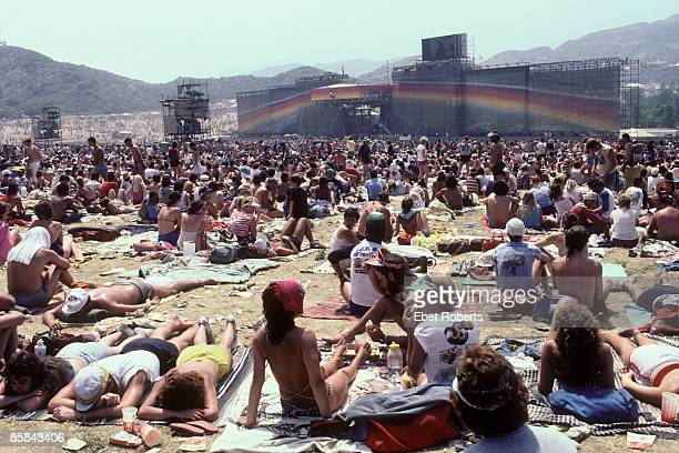 Photo of US FESTIVAL; 5 Day festival in San Bernardino, California organised by Steve Wozniak of Apple Computers