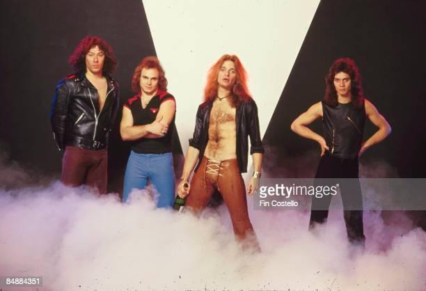 CAMDEN Photo of VAN HALEN and Eddie VAN HALEN and Alex VAN HALEN and Michael ANTHONY and David LEE ROTH LR Alex Van Halen Michael Anthony David Lee...