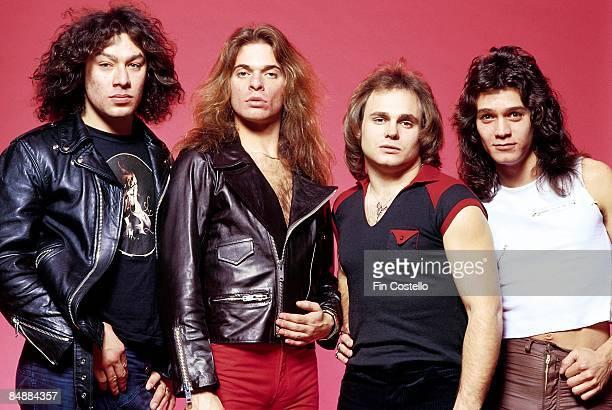 CAMDEN Photo of VAN HALEN and Eddie VAN HALEN and Alex VAN HALEN and Michael ANTHONY and David LEE ROTH LR Alex Van Halen David Lee Roth Michael...