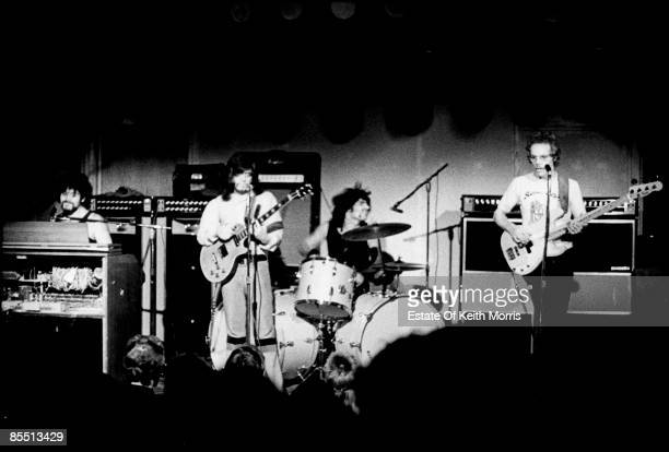 MARQUEE Photo of VANILLA FUDGE performing live onstage LR Mark Stein Vince Martell Carmine Appice Tim Bogert