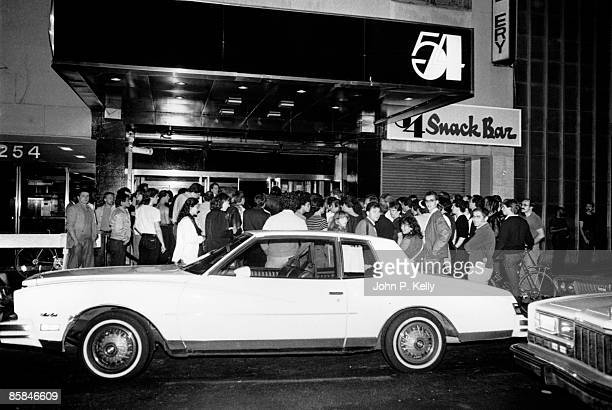 Photo of VENUES and DISCO and STUDIO 54 Exterior view of Studio 54 Nightclub in New York circa 1975