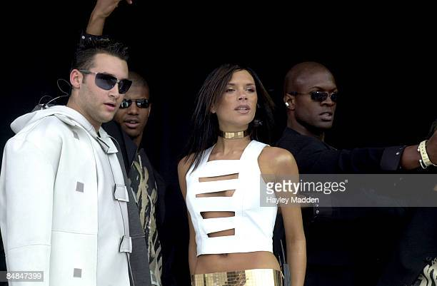 PARK Photo of Victoria BECKHAM with Dane Bowers