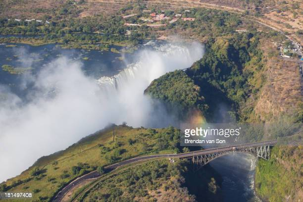 CONTENT] Photo of Victoria Falls from the air by travel photographer Brendan van Son