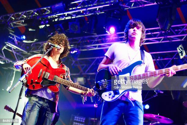 FESTIVAL Photo of VIEW Kyle Falconer and Kieren Webster performing live onstage
