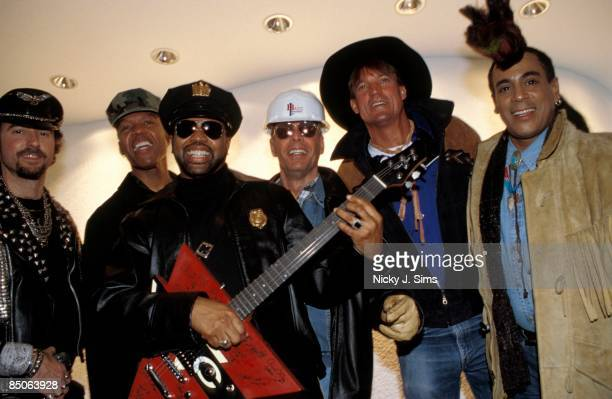 Photo of VILLAGE PEOPLE Posed at the YMCA on Tottenham Court Road