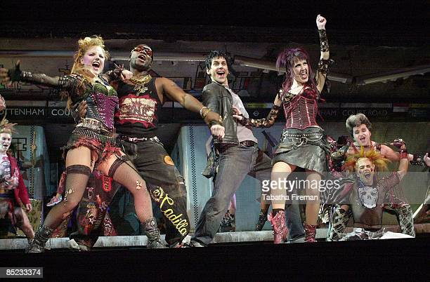 Photo of We Will Rock You @ Dominion - 2/05/02, 'We Will Rock You' musical photocall @ Dominion Theatre 2/05/02,