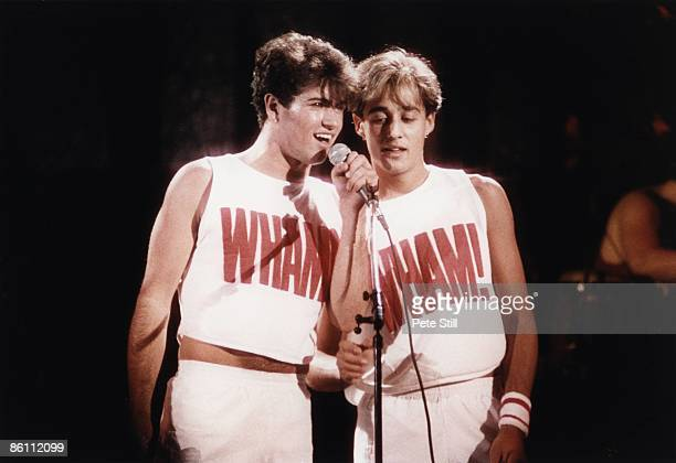 Photo of WHAM!, George Michael & Andrew Ridgely