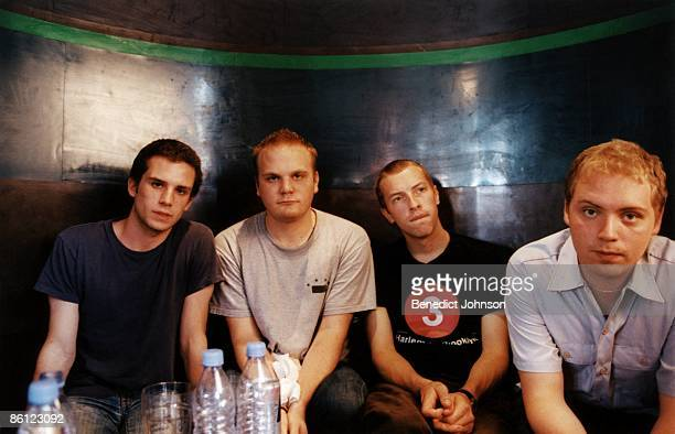 BARFLY Photo of Will CHAMPION and Guy BERRYMAN and COLDPLAY and Chris MARTIN and Jonny BUCKLAND LR Guy Berryman Will Champion Chris Martin Jonny...