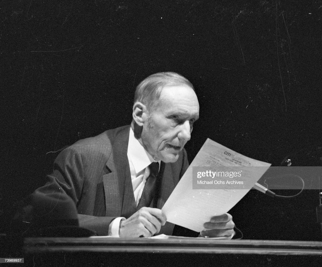 Photo of William Burroughs