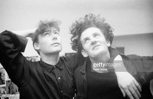 Photo of William REID and Jim REID and JESUS MARY CHAIN Jim Reid William Reid