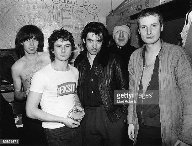 S Photo of XTC and Andy PARTRIDGE and Colin MOULDING and Chris SPEDDING and Terry CHAMBERS and Dave GREGORY XTC with Chris Spedding LR Colin Moulding...
