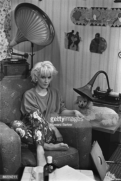 Photo of YATES ARTIST PAULA YATES VENUE TYNE TEES PRESENTER THE TUBE DATE 11 NOVEMBER 1984