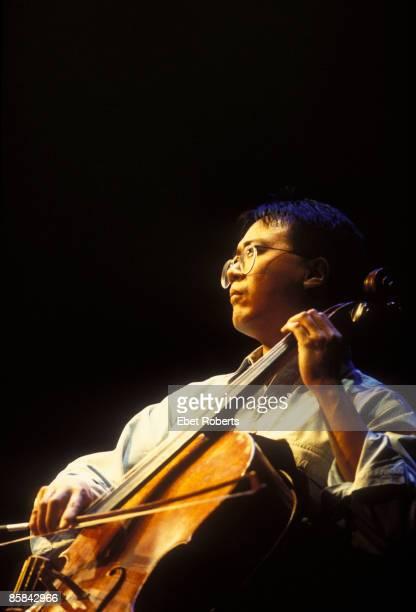 UNITED STATES JANUARY 01 Photo of Yo YO MA Yo Yo Ma performing at the Bottom Line in New York City on November 6 1996