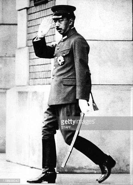 Photo prise en août 1941 de l'empereur du Japon Hirohito Devenu en 1926 le 124eme empereur du Japon Hirohito né en 1901 est décédé le 07 janvier 1989...