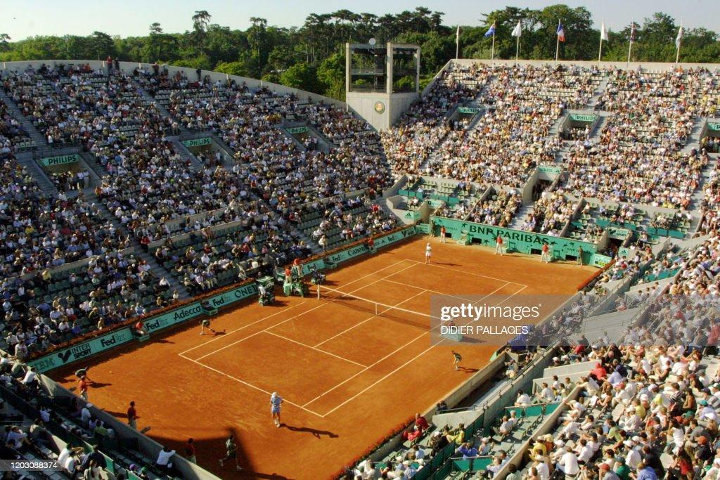 TENNIS-ROLAND GARROS-ILLUSTRATION : News Photo