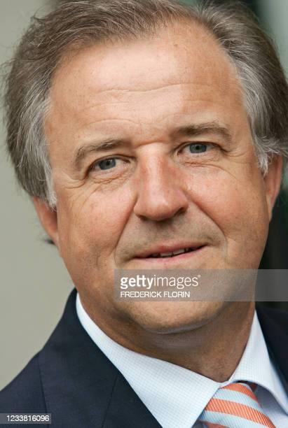 Photo prise le 02 août 2005 à Strasbourg, du député alsacien Yves Bur . Yves Bur en est convaincu : l'interdiction de fumer dans les bars et les...