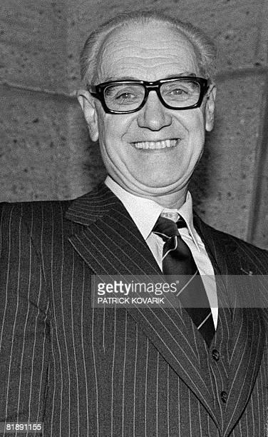 Photo prise le 05 d?cembre 1983 de Jean G?lamur, ancien pr?sident de Bayard Presse qui est d?c?d? le 09 juillet 2008 ? l'?ge de 87 ans, a annonc? le...