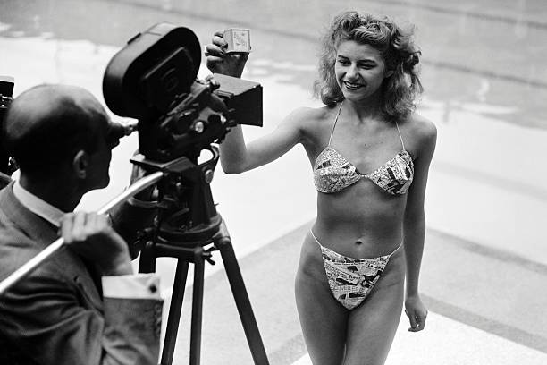 FRA: 5th July 1946 - The First Bikini Is Unveiled