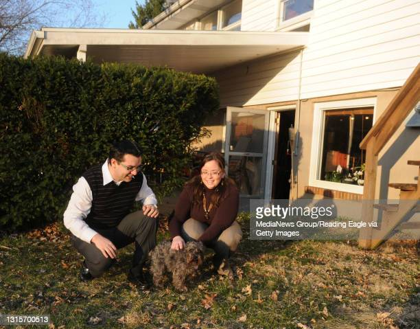 Photo Ryan McFadden Latino's moving into the suburbs; Lenin Agudo and his wife Gabriela Raful of Wyomissing moved here in part to give their mini...
