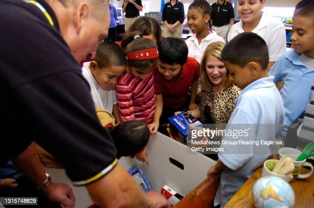 """Photo Ryan McFadden Office Max runs a program called """"A Day Made Better"""" which gives one teacher around $1,000 in school supplies for every store..."""