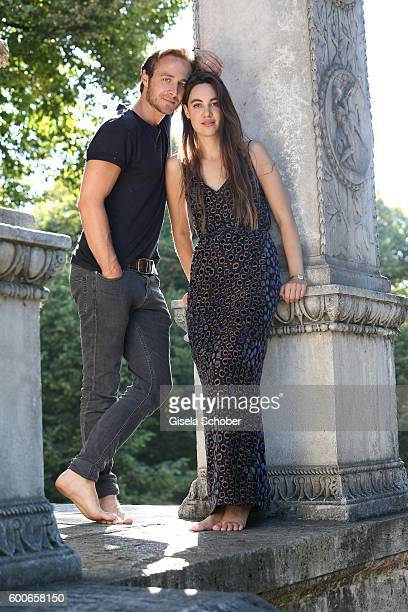 Photo session with Gabriel Raab and his girlfriend Alina on August 8 2016 in Munich Germany