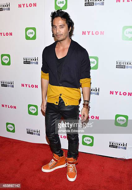 ANTM photo shoot creative consultant Yu Tsai arrives at the America's Next Top Model Cycle 21 Premiere Party Presented By NYLON and LINE at...