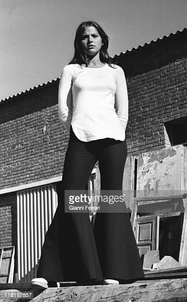 A photo shoot of the Italian actress Ornella Muti Madrid Spain