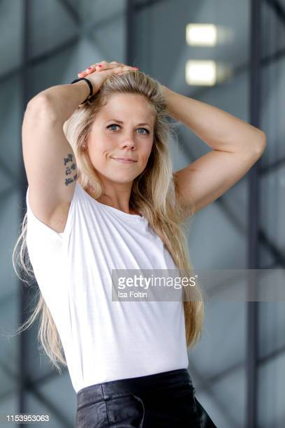 Photo shooting with MMA World Champion Julia Dorny on May 4 2019 in Berlin Germany