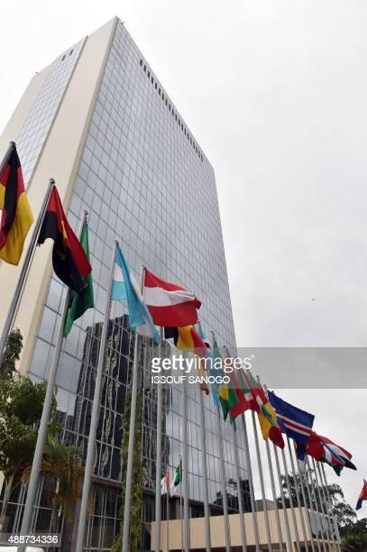 Photo show the African Development Bank headquarter in Abidjan on September 17 2015 AFP PHOTO / ISSOUF SANOGO