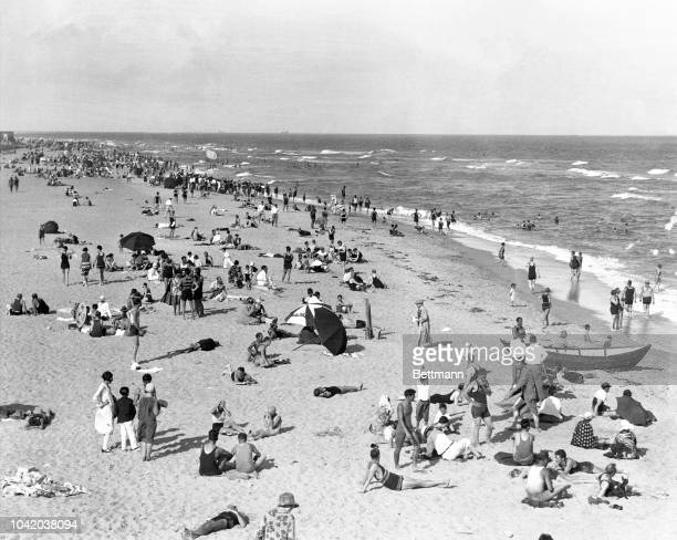 Photo shows a general view of Miami Beach Miami Florida Ca 19151920