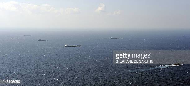 Photo shows a shipping lane in the Gulf of Aden on January 17 2009 Last month the UN Security Council passed a resolution authorizing countries to...